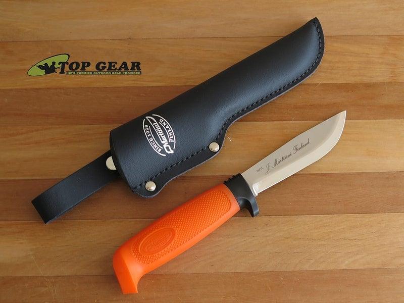 MARTTIINI SKINNING KNIFE, ORANGE HANDLE - 186024
