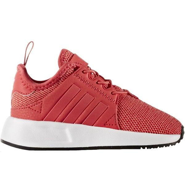 f445178996b adidas Originals Infants Girls Kids X PLR EL I Lace Up Trainers Sneakers-Pink-3K