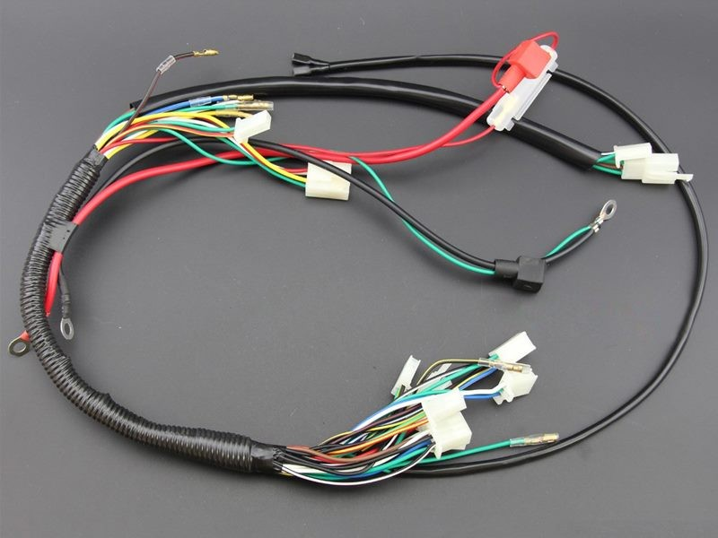 Wiring Harness Loom 50cc 70cc 110cc 125cc ATV QUAD Bike | Trade Me on pet harness, electrical harness, swing harness, oxygen sensor extension harness, suspension harness, pony harness, maxi-seal harness, alpine stereo harness, cable harness, battery harness, amp bypass harness, dog harness, radio harness, nakamichi harness, fall protection harness, obd0 to obd1 conversion harness, safety harness, engine harness,