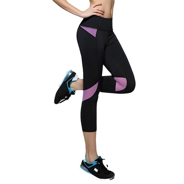 902ea7be527e0 Women Sports Yoga Leggings Running Fitness Gym Tights Workout Jogging 3/4  Pants | Trade Me