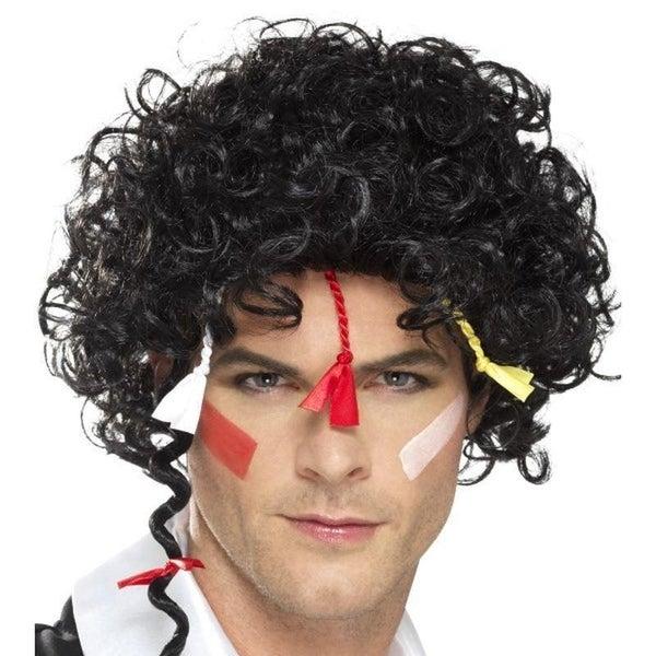 80s New Romantic Wig Adult Black
