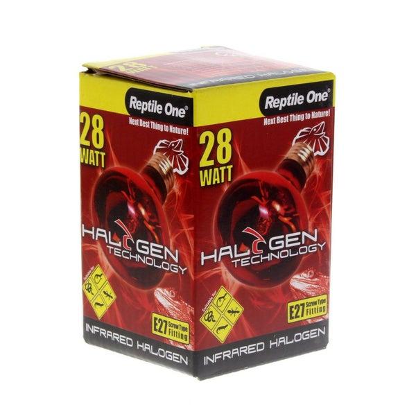 Halogen Heat Lamp Infrared 28W Eqv 40W E27 Kongs Reptile Light Vivarium  Health
