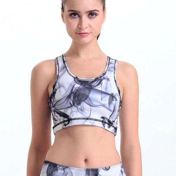 a668c7c5cd0e1f Women Yoga Sport Bra Summer Training Fitness Gym Vest Fast Dry Running Tank  Tops