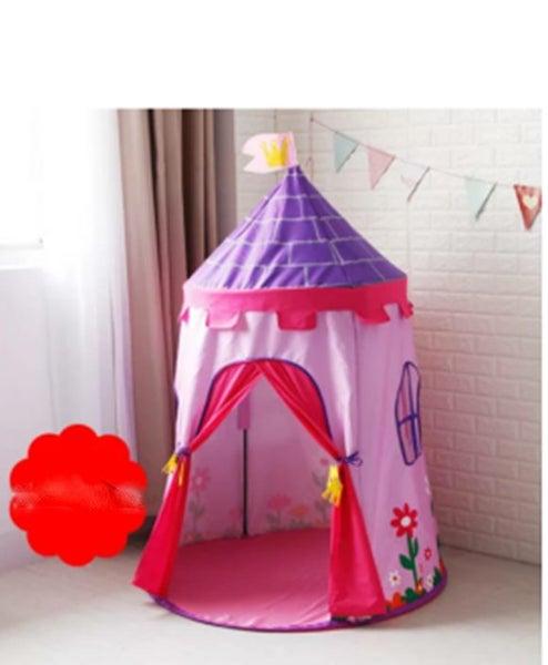 half off 11171 f27ae Childrens Play Tents Kids Castle Tent Indoor & Outdoor Children's Playhouse  Pink
