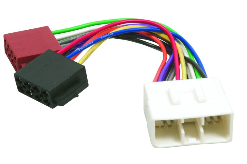 iso wiring harness connector plug loom for hyundai 1991-2000 excel lantra  sonata | trade me