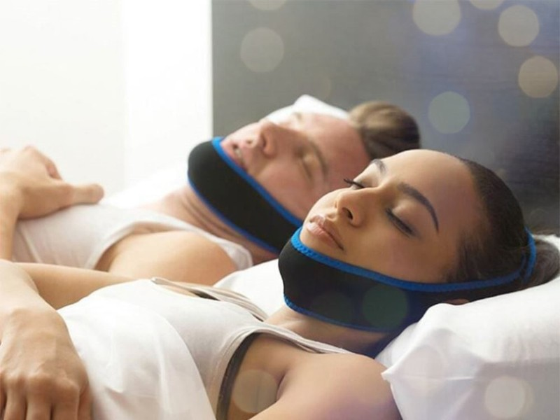 Image result for stop snoring chin straps
