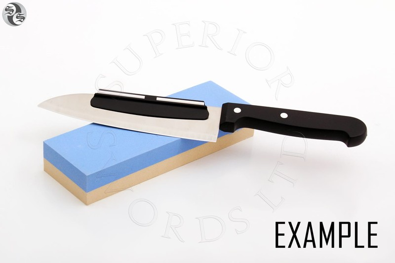 Sharpening Stone Kitchen Knife Angle Guide