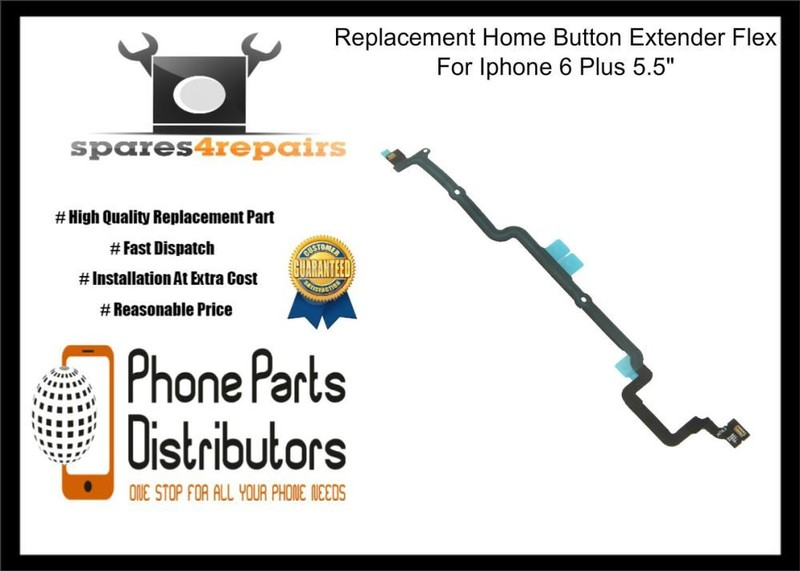 brand new 35077 80c16 Replacement Home Button Extender Flex For Iphone 6 Plus 5.5