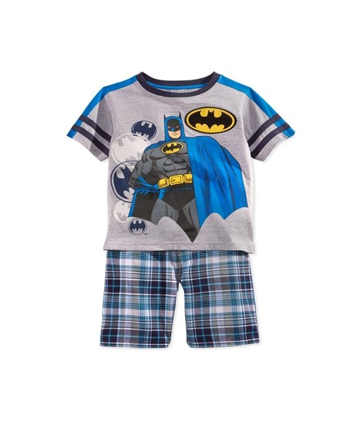 4182fe051 DC Comics Boys 2-Pc Batman Plaid Graphic T-Shirt | Trade Me