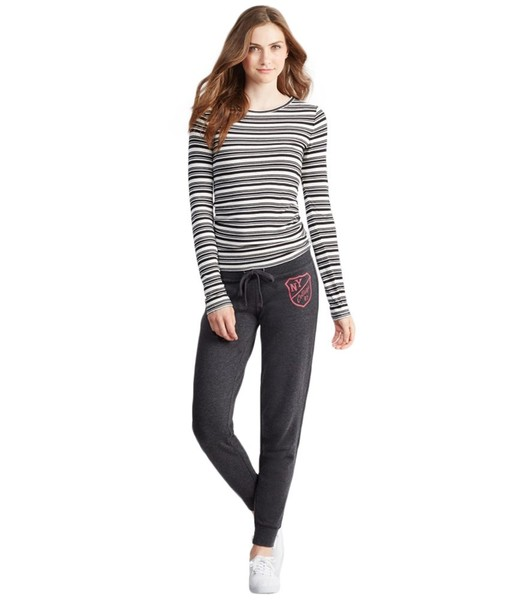 Aeropostale Womens Jogger Casual Leggings