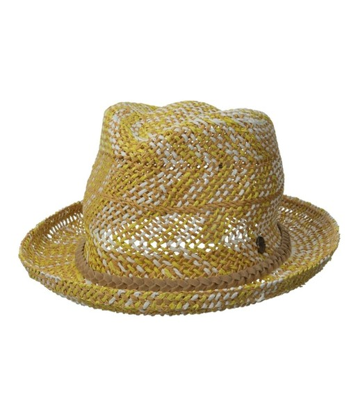 cd5156cb240 Roxy Womens Big Swell Straw Fedora Trilby Hat