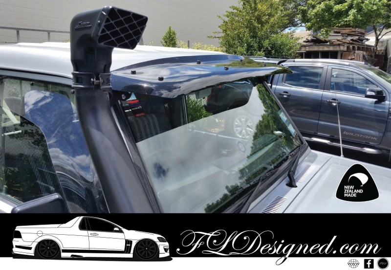 1985-2019+ Landcruiser 70 series Dark Tint Sun visor (WITH SNORKEL ... 937a90529cc