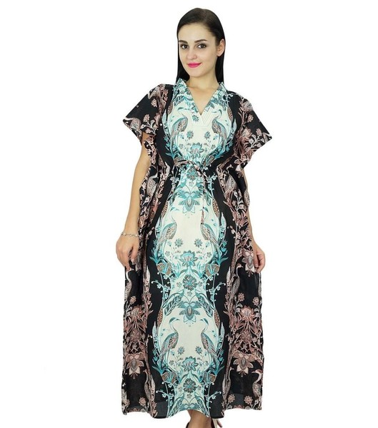 96fcf3561c Bimba Women Long Cotton Kaftan Beach Cover Up Maxi Caftan | Trade Me