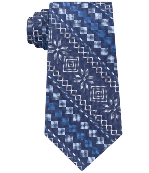 65a309fc2 Tommy Hilfiger Mens Snowflake Self-tied Bow Tie