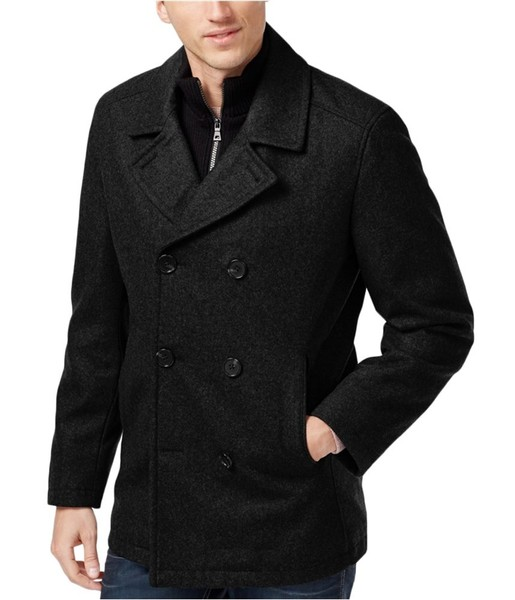 8169c056c6 I-N-C Mens Double Breasted Pea Coat | Trade Me