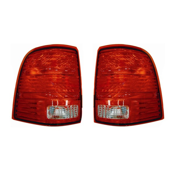 New Tail Light Pair Fits Ford Explorer 2002 2003 2004 2005 1l2z13404aa Fo2800159 Trade Me
