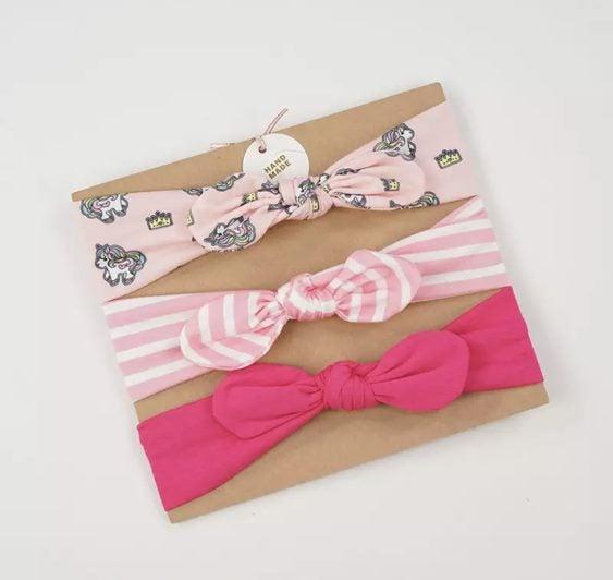 5625d898a175 3Pcs Set Fashion Cute baby Girls headband Headbands Bow Band hair  accessories