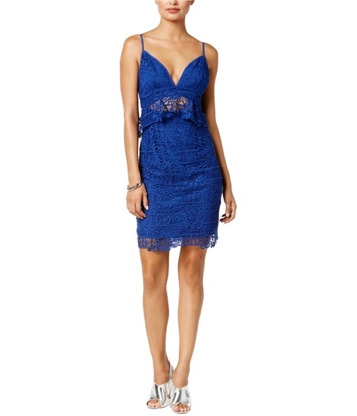 9944806cdf7 GUESS Womens Solstice Lace Bodycon Dress