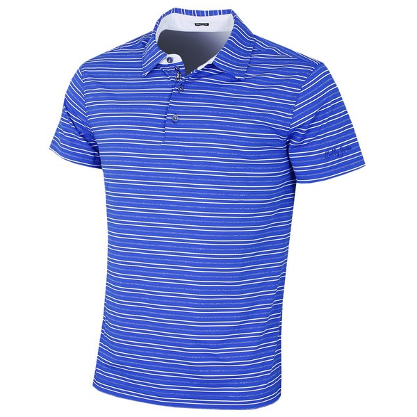 852e647c Bobby Jones Mens Barley Texture Stripe Polo | Trade Me