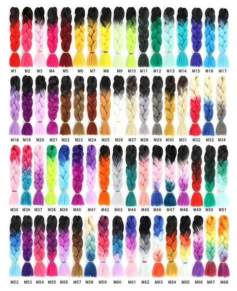 M7 - 2 Color - Ombre Braids