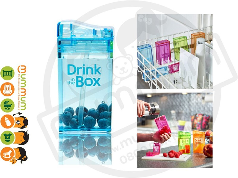 ed89d52d32a Drink In The Box Small 8oz/235ml Box Bottle - Blue