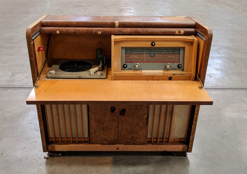 Vintage Philips Hi-Z Stereogram Record Player for RESTORE