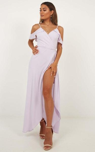 Showpo Flowing Free Dress In Lilac  e605a6d96
