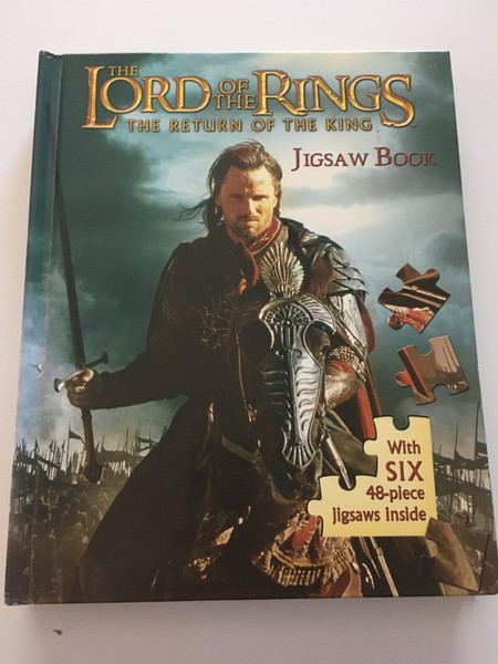 THE LORD OF THE RINGS JIGSAW BOOK | Trade Me