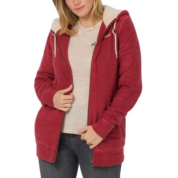 9373dc5d897 Animal Womens Maya Casual Zipped Long Sleeve Sweatshirt Hooded Jacket Hoodie  Top