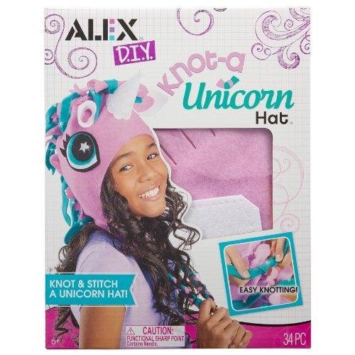 8c91443f626 Alex Knot a Unicorn Hat DIY Kit