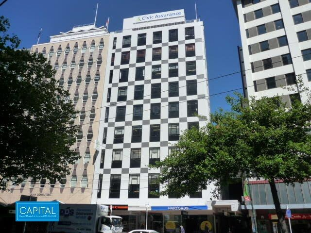 115 sqm - Lambton Quay Office Suite