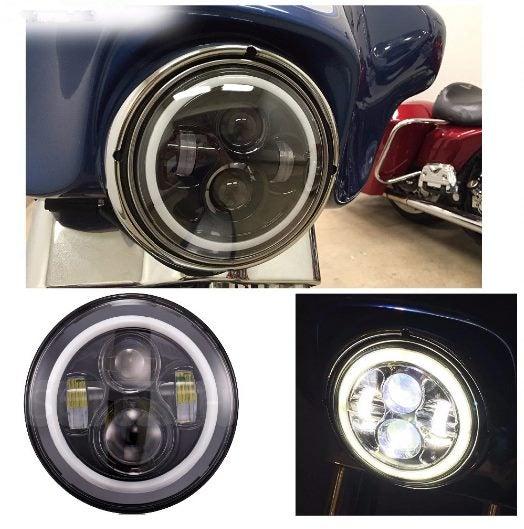 Harley Headlight 7