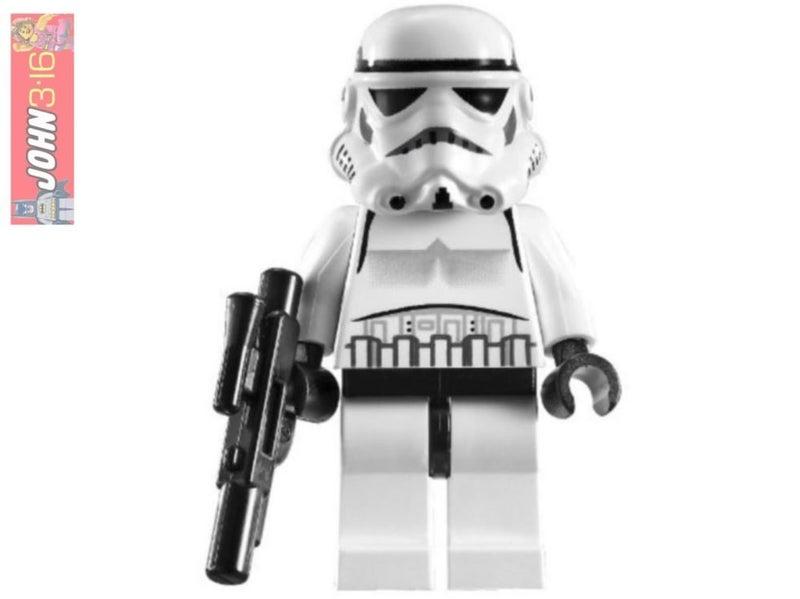 LEGO Star Wars Stormtrooper sw188 Minifigure 8087 7667 10188 10212 30005 7659