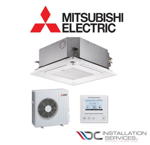 Mitsubishi Electric 6 kW Cassette Heat Pump & Installation