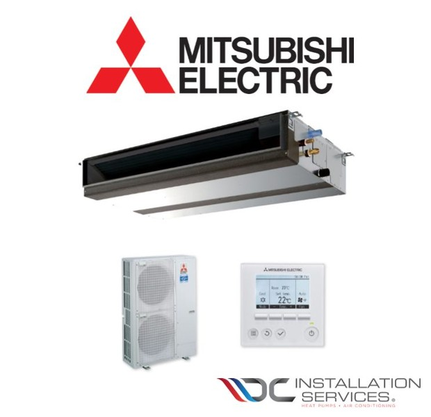 Mitsubishi Electric 14 kW Ducted Heat Pump System & Installation