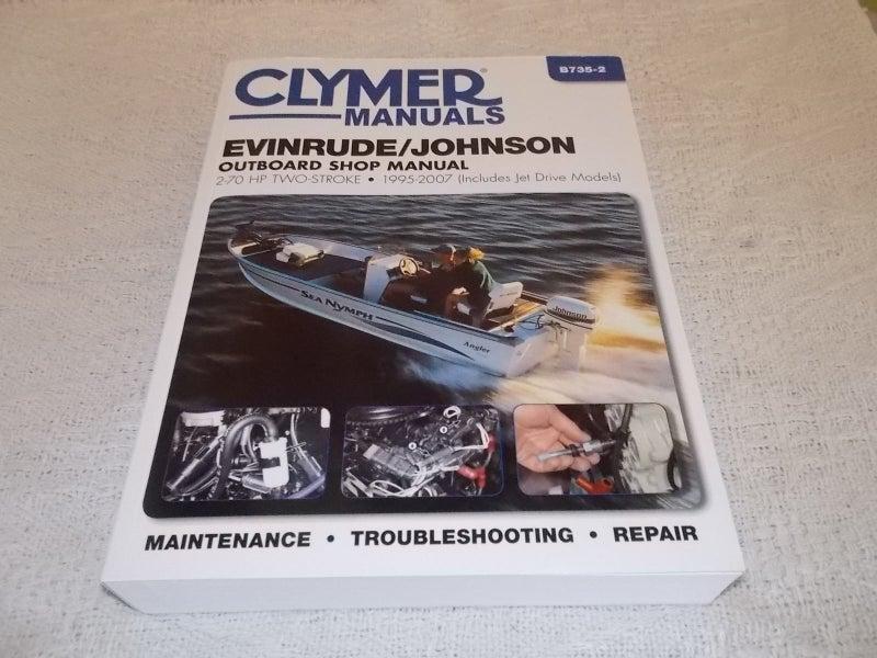 Evinrude/Johnson Outboard Manual 2-70 HP Two Stroke 1995
