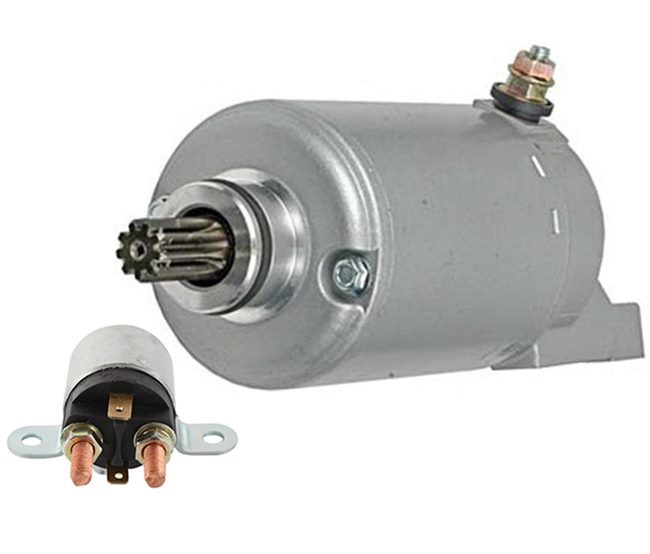 NEW STARTER AND RELAY FIT BOMBARDIER TRAXTER XT 711296125