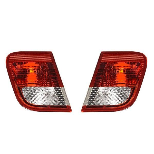 Inner Tail Light Lamp Red /& Amber Left LH Driver for BMW 320i 325i 330i Sedan