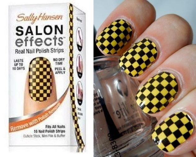 SALLY HANSEN Nail Polish Strips SOUND CHECK *free post deal with ...