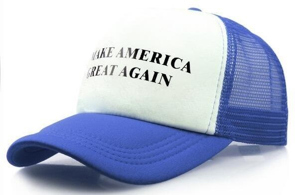 d13f34c65862d Make America Great Again blue Donald Trump Hat Cap