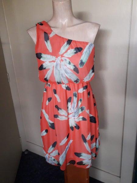 cbebebe6eab9 As New 'Charming Charlie' One-Shoulder Stylish Dress | Trade Me