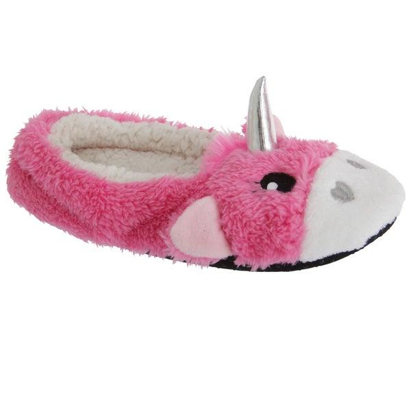86b7dfa0fc29 Slumberzzz Womens Ladies Fluffy Grippy Unicorn