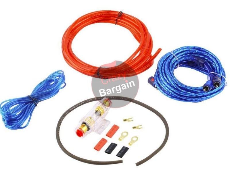 Car Audio Amplifier Subwoofer Wiring Kit | Trade Me on cd player wiring kit, cable wiring kit, car wiring kit, subwoofer connectors, speaker wiring kit, subwoofer grill, tv wiring kit, subwoofer capacitor, subwoofer plug, sub wiring kit, subwoofer enclosures, daytime running lights wiring kit, subwoofer speakers, subwoofer box, stereo wiring kit, audio wiring kit, subwoofer amplifier, subwoofer cover, amplifier wiring kit, subwoofer fuse,