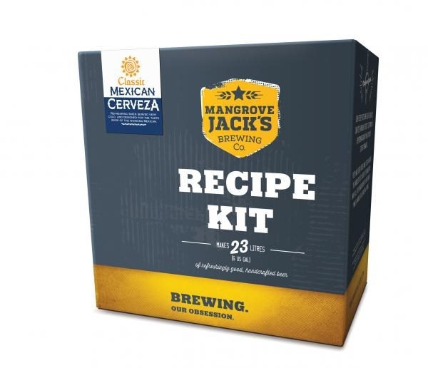 Classic Mexican Cerveza - Beer Recipe Kit