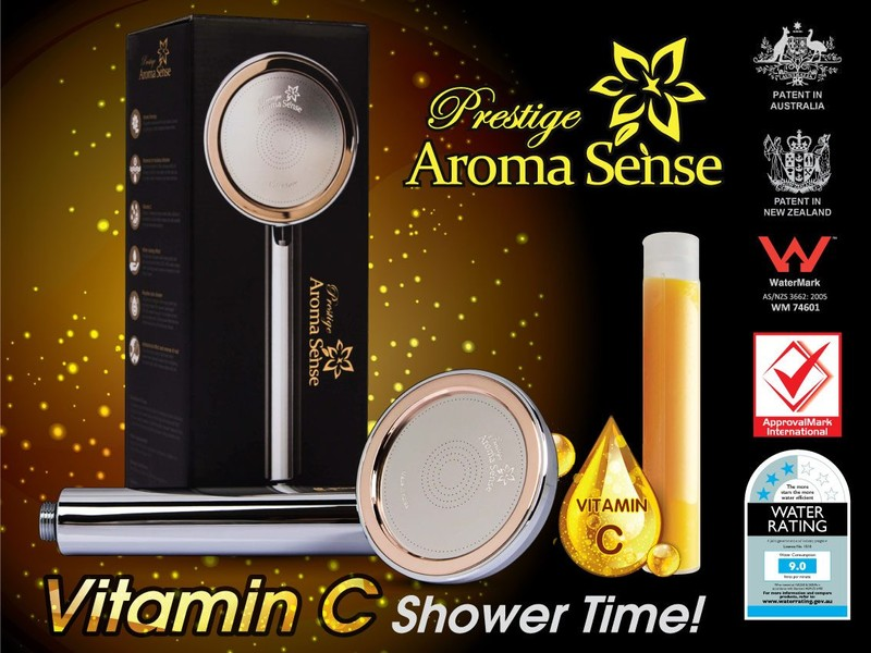 Shower Head - Vitamin C Filter - PRESTIGE