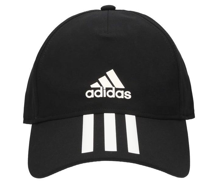 bde6da4f8db0 Adidas C40 3 Stripe Climalite Cap Black Hat