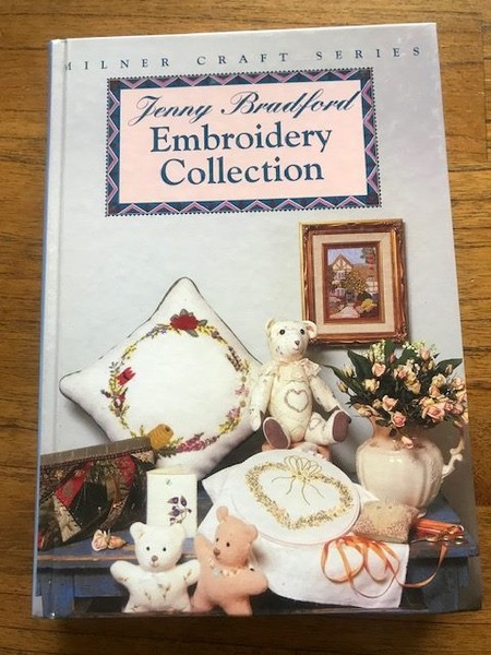 EMBROIDERY COLLECTION (INSTRUCTIONS ON HOW TO DO EMBROIDERY STITCHES ) -  BOOK