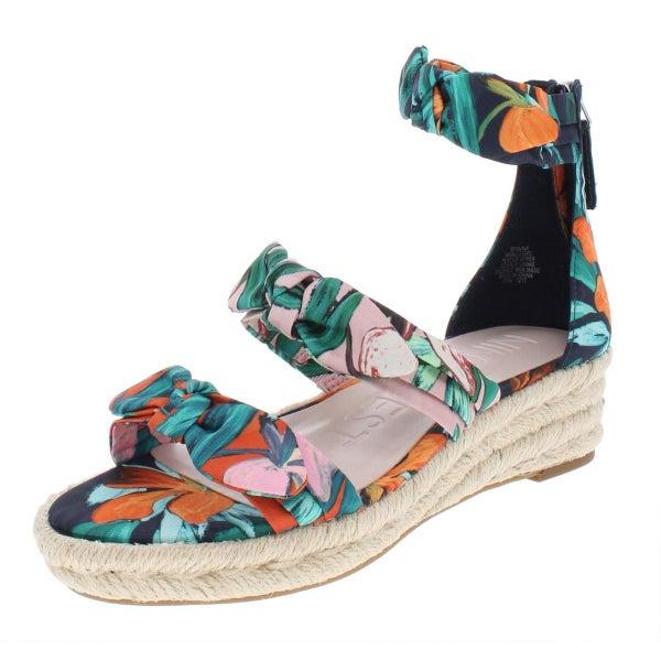 e6cbbe7e6d Nine West Womens Allegro Man Made Wedge Sandals | Trade Me