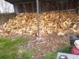 Dry Firewood and splitting service