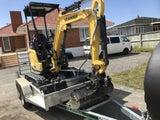 Digger & Excavator 1.7 ton Hire
